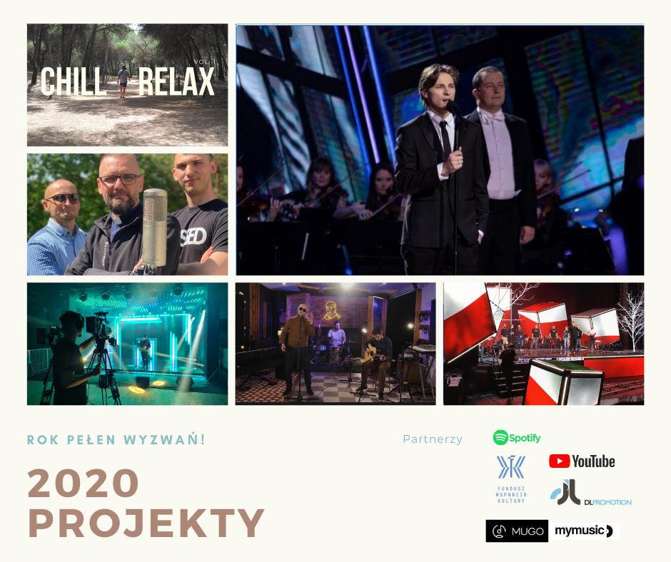 Projekty 2020! To był wyjątkowy rok!